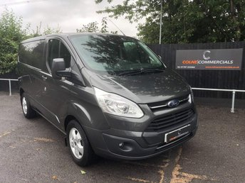 2017 FORD TRANSIT CUSTOM 2.0 TDCi 270 Limited L1 H2 5dr £18950.00