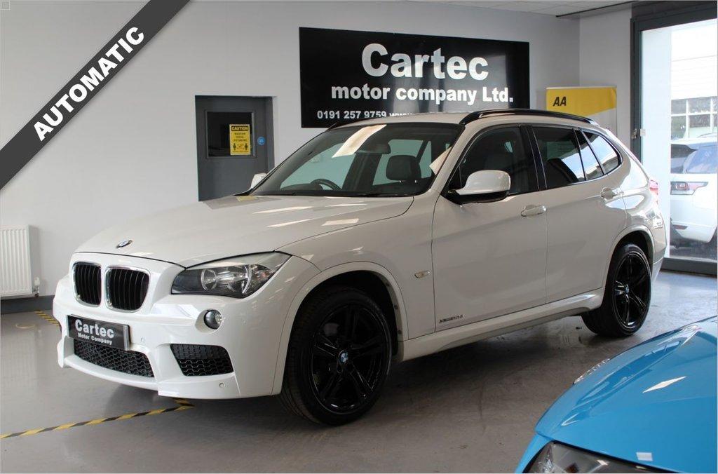 USED 2011 11 BMW X1 2.0 XDRIVE20D M SPORT 5d 174 BHP