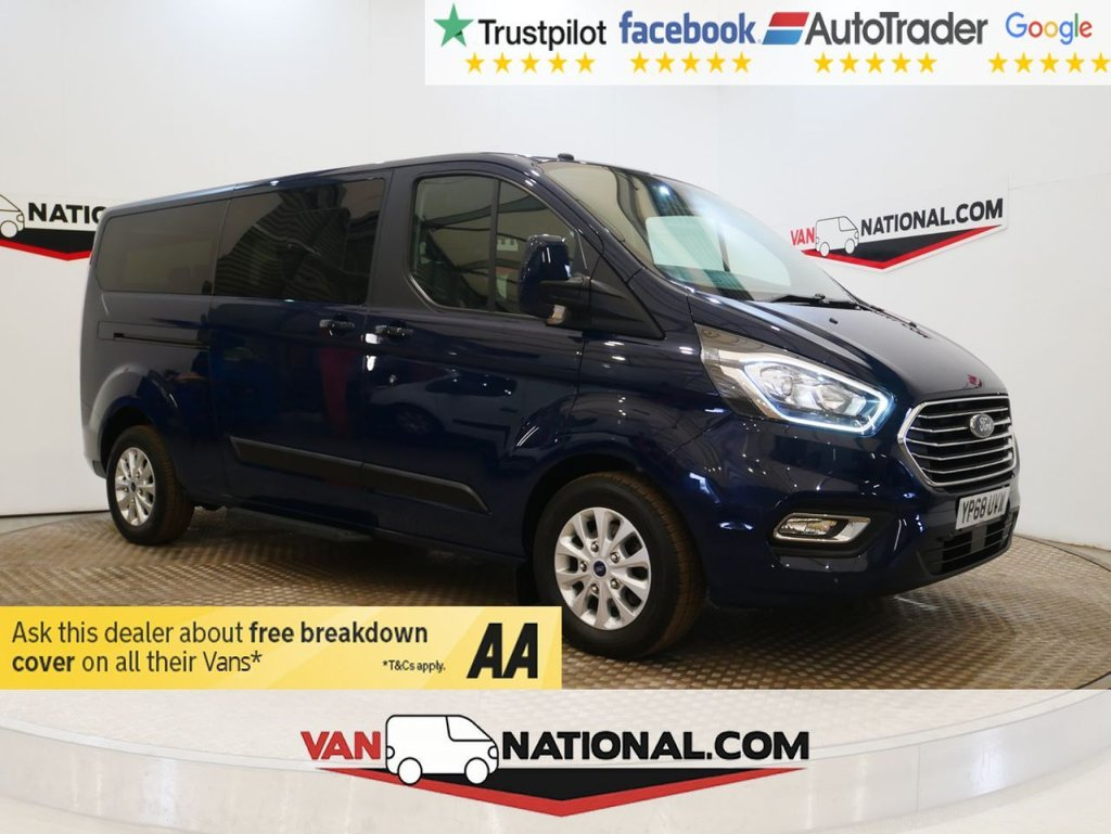 USED 2018 68 FORD TOURNEO CUSTOM 2.0 320 ZETEC 5d 130 BHP WWW.VANNATIONAL.COM