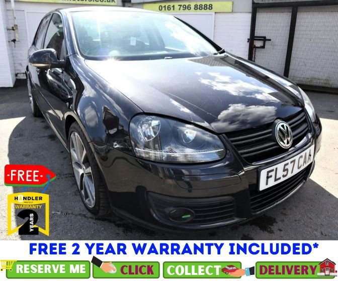 USED 2007 57 VOLKSWAGEN GOLF 2.0 GT SPORT TDI DSG 5d AUTO 168 BHP *CLICK & COLLECT OR DELIVERY *