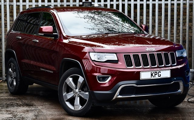 "USED 2017 67 JEEP GRAND CHEROKEE 3.0 CRD Limited Plus Auto 4WD (s/s) 5dr Sat Nav, Heated S/Wheel, 20""s"