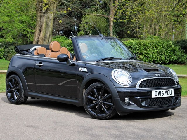 USED 2015 15 MINI CONVERTIBLE 1.6 COOPER S 2d 184 BHP £204 PCM With £1149 Deposit
