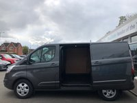 USED 2015 15 FORD TRANSIT CUSTOM 2.2 290 LIMITED L1 Low Roof 3 Seat Panel Van with Massive High Spec Incredible Low Mileage Full Service History Fantastic Condition and Very well Maintained in a Stunning Colour a real gem of a find this one now Ready to Finance and Drive Away Today One Owner from New