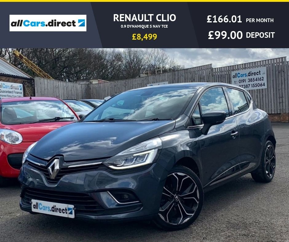 USED 2018 18 RENAULT CLIO 0.9 DYNAMIQUE S NAV TCE