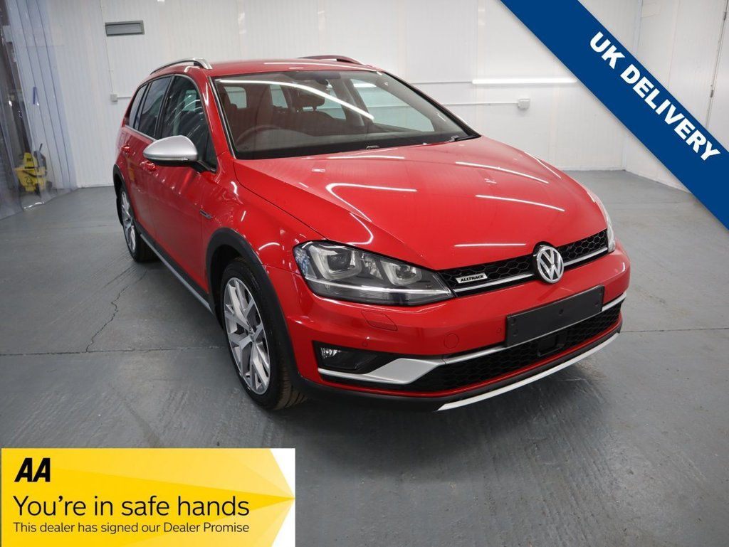 USED 2015 65 VOLKSWAGEN GOLF 2.0 ALLTRACK TDI BLUEMOTION TECH 4MOTION DSG 5d 182 BHP THE ALLTRACK IS A TALLER GOLF ESTATE WITH FOUR WHEEL DRIVE.