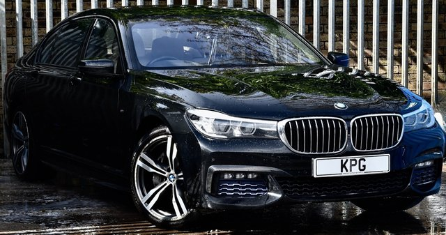 USED 2016 66 BMW 7 SERIES 3.0 740Ld M Sport Auto xDrive (s/s) 4dr £18k Extra's, Exec Lounge, TV
