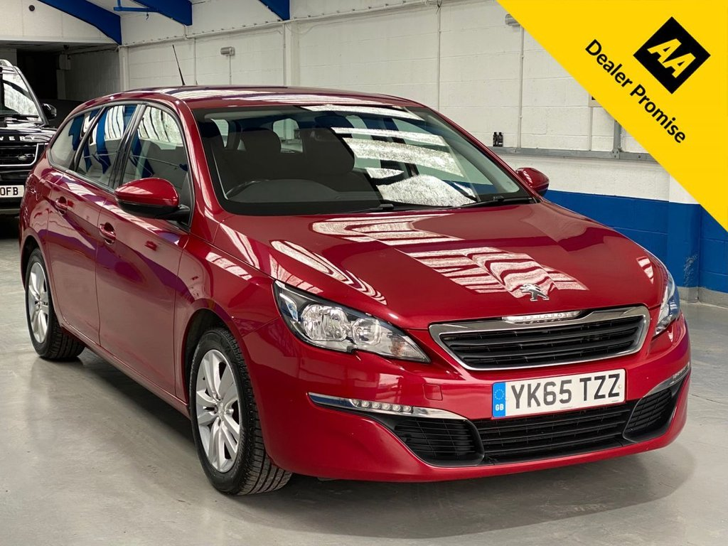USED 2015 65 PEUGEOT 308 1.6 BLUE HDI S/S SW ACTIVE 5d 100 BHP FULL SERVICE HISTORY---1 OWNER