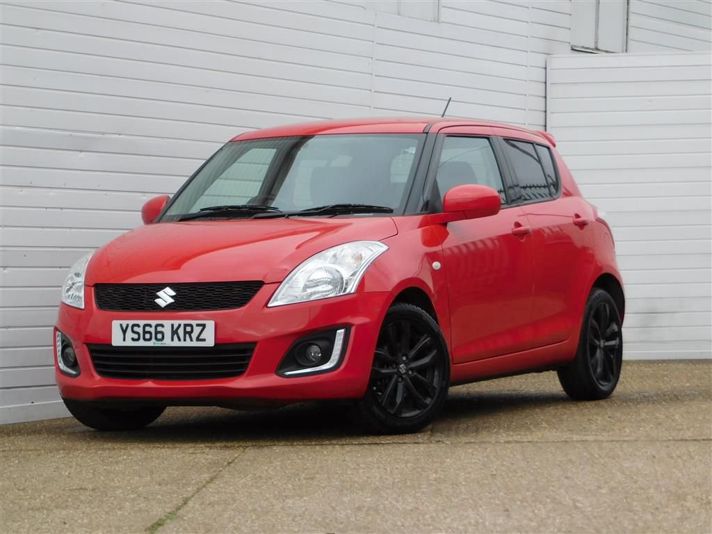 USED 2016 66 SUZUKI SWIFT 1.2 SZ-L 5d 94 BHP Buy Online Moneyback Guarantee