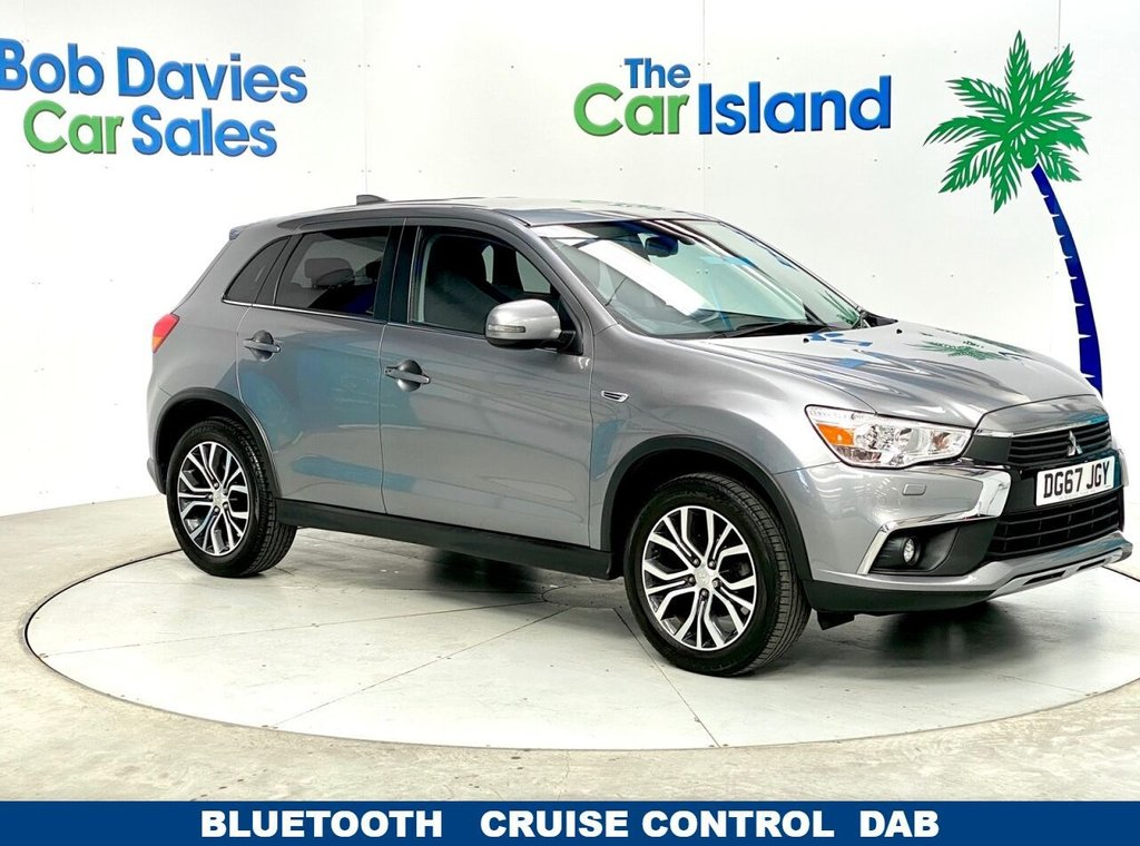 "USED 2017 67 MITSUBISHI ASX 1.6 3 5d 115 BHP Heated Seats 18""Alloys Bluetooth only 24000 miles"