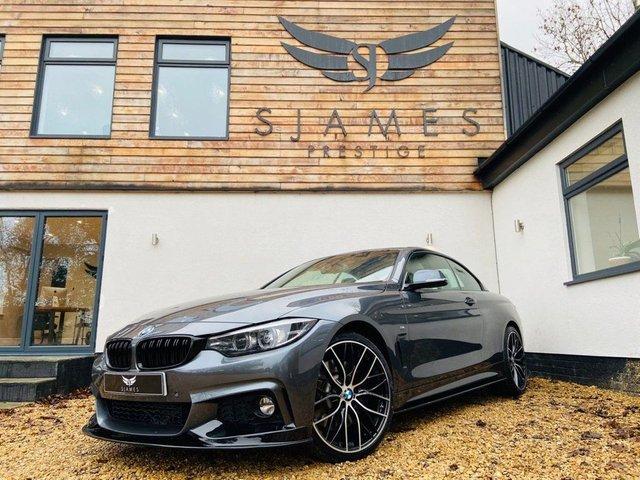 2017 67 BMW 4 SERIES 2.0 420D M SPORT 2d AUTO 188 BHP
