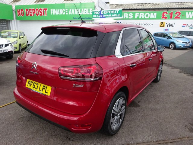 USED 2013 63 CITROEN C4 PICASSO 1.6 E-HDI AIRDREAM EXCLUSIVE 5d 113 BHP ** TEST DRIVE TODAY **JUST ARRIVED.01543 877320