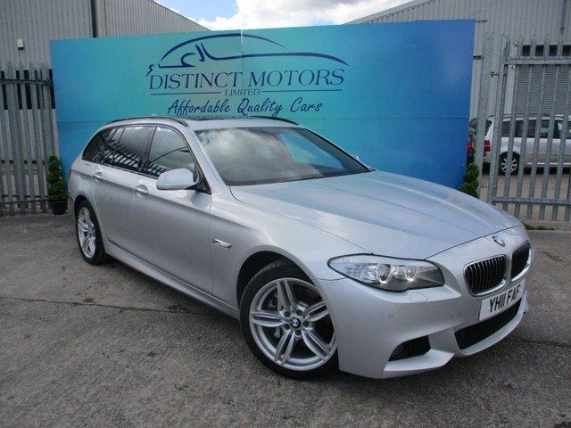 USED 2011 11 BMW 5 SERIES 3.0 530D M SPORT TOURING 5d 242 BHP