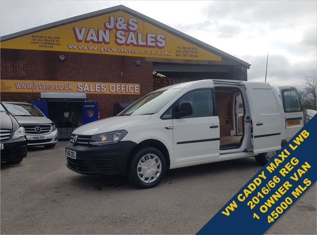 USED 2016 66 VOLKSWAGEN CADDY MAXI 2.0 C20 TDI STARTLINE 102 BHP ONLY 45K MLS LOTS MORE ON SITE ALL MODELS BIG OR SMALL
