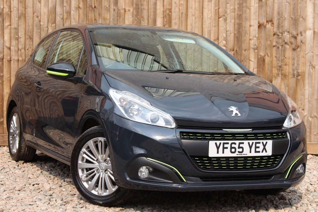 USED 2015 65 PEUGEOT 208 1.2 PureTech Active 3dr 6 MONTH WARRANTY + FULL SERVICE HISTORY + 12 MONTHS MOT