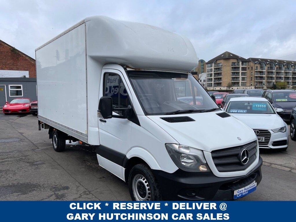 USED 2015 65 MERCEDES-BENZ SPRINTER 313 CDI 129 BHP LUTON WITH TAIL LIFT