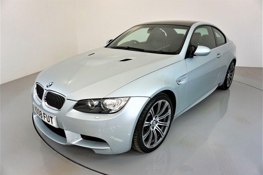 USED 2008 08 BMW M3 4.0 COUPE-BLACK NOVILLO LEATHER-CRUISE CONTROL-ELECTRIC MEMORY SEAT-REAR PARKING SENSORS-XENON HEADLIGHTS-AUTO LIGHTS-CLIMATE CONTROL-RARE MANUAL E92-BE QUICK