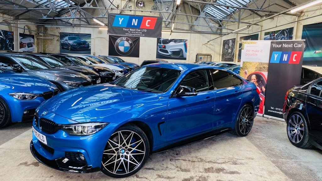 USED 2018 18 BMW 4 SERIES 3.0 435d M Sport Gran Coupe Auto xDrive (s/s) 5dr PERFORMANCEKIT+PLUSPACK+20S
