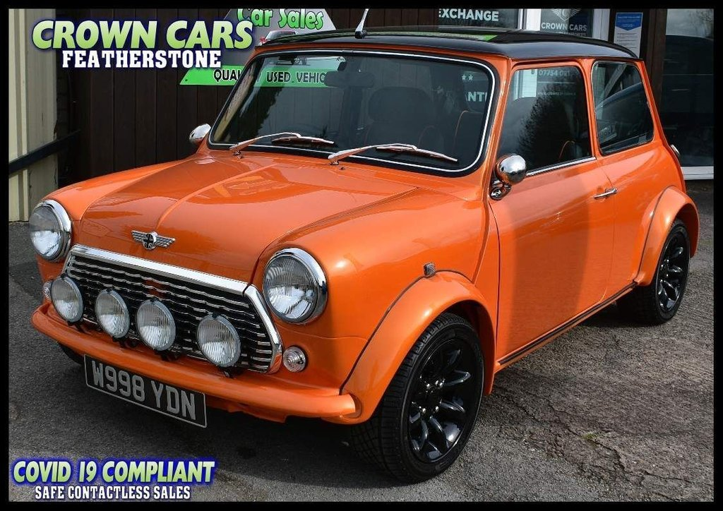 USED 2000 W ROVER MINI 1.3 i Cooper 2dr FULLY RESTORED SHOW CAR