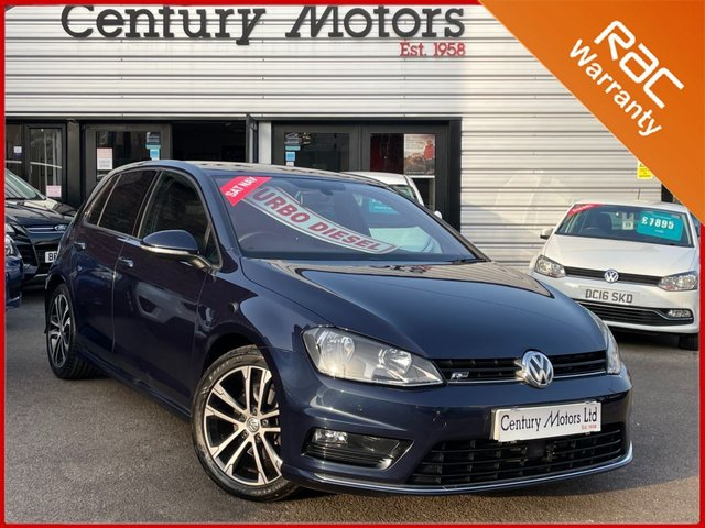 2015 65 VOLKSWAGEN GOLF 2.0 TDI R-LINE Blue Tech 150 5dr - UPGRADE ALLOYS