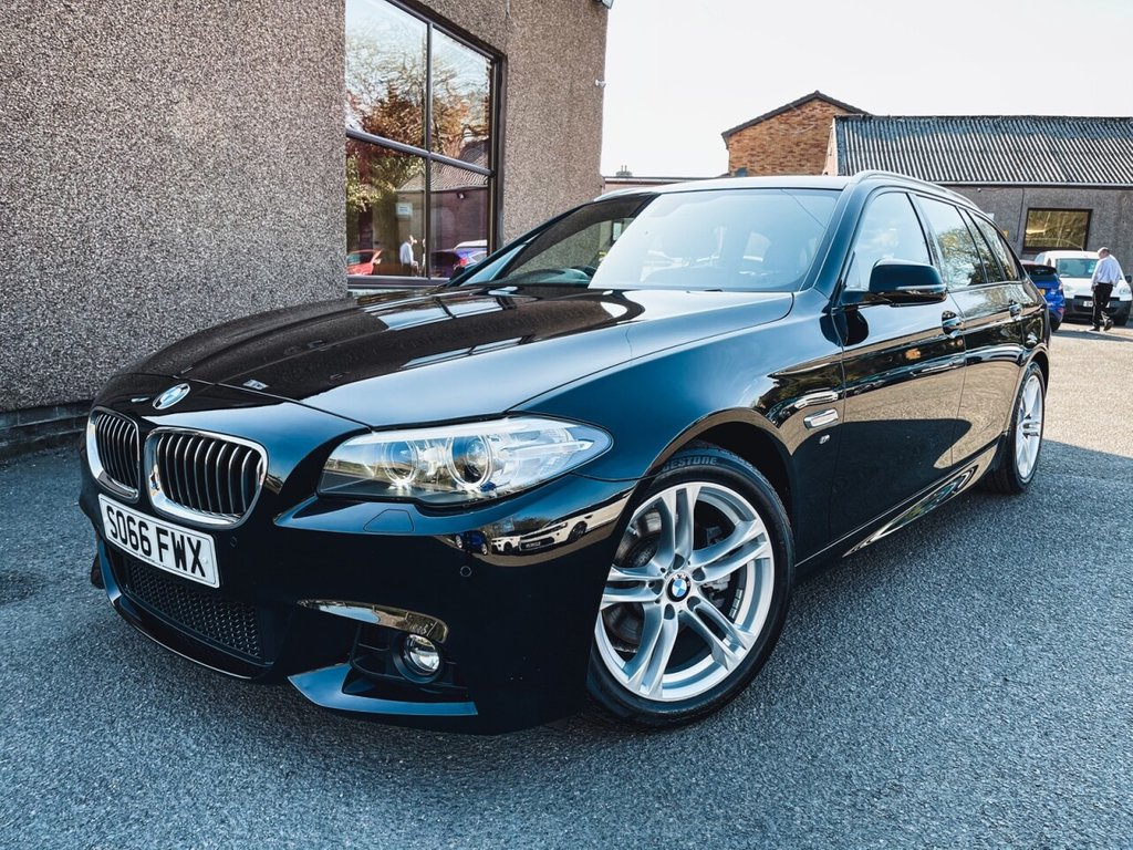 USED 2017 66 BMW 5 SERIES 2.0 520D M SPORT TOURING 5d 188 BHP