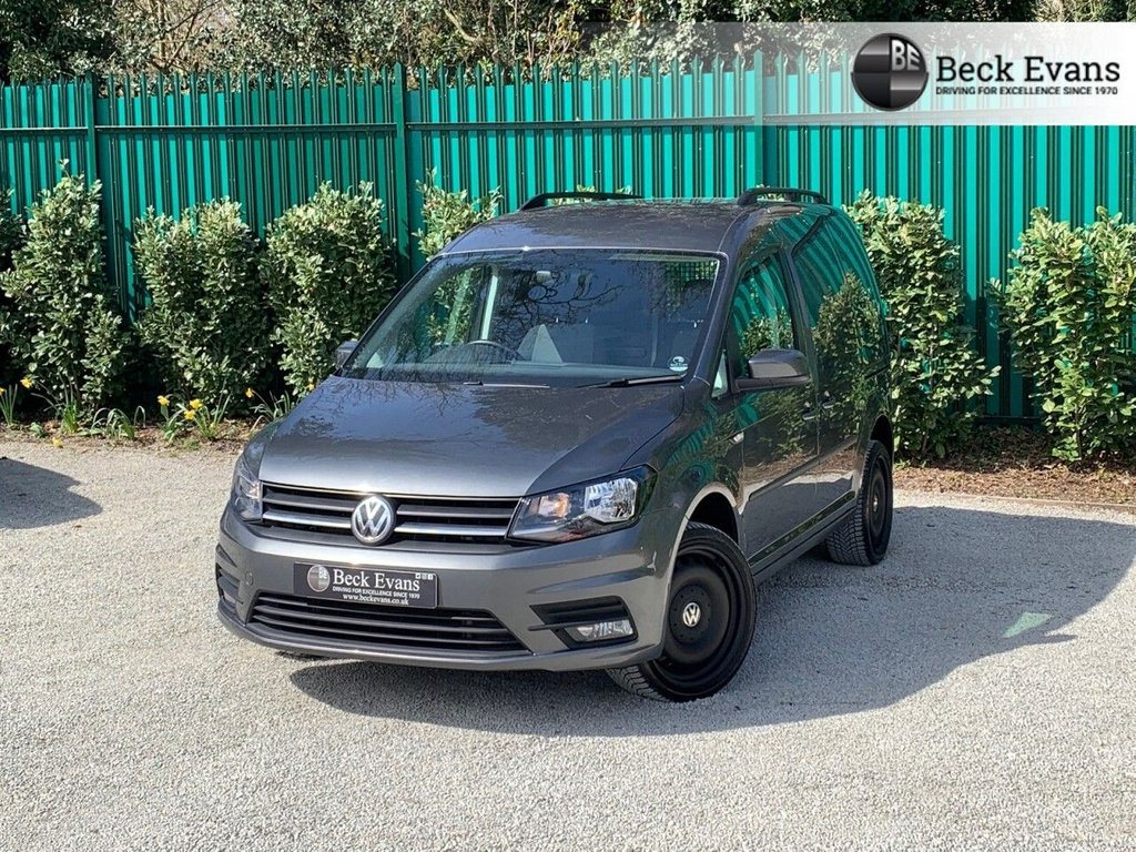 USED 2019 69 VOLKSWAGEN CADDY 2.0 C20 TDI HIGHLINE 101 BHP NO ADDED VAT TO PAY