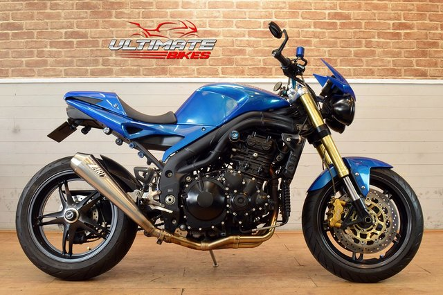 USED 2005 55 TRIUMPH SPEED TRIPLE 1050  - FREE DELIVERY AVAILABLE
