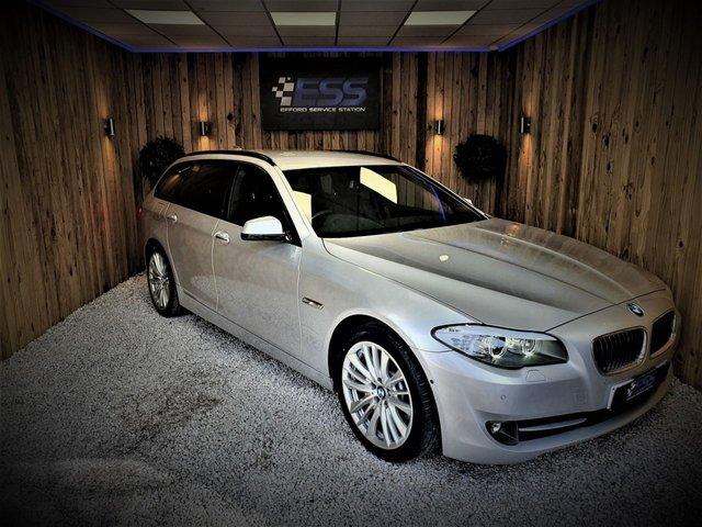 2010 60 BMW 5 SERIES 3.0 530D SE TOURING 5d 242 BHP