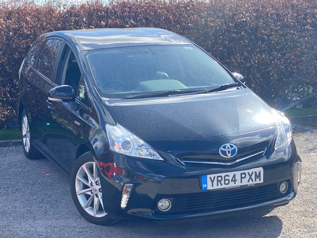 USED 2014 64 TOYOTA PRIUS PLUS 1.8 EXCEL 5d FULL TOYOTA SERVICE HISTORY, 12 MONTHS MOT, SATELLITE NAVIGATION, BLUETOOTH, CRUISE CONTROL