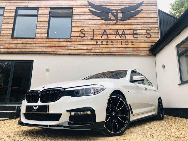 2018 18 BMW 5 SERIES 2.0 520D M SPORT 4d AUTO 188 BHP