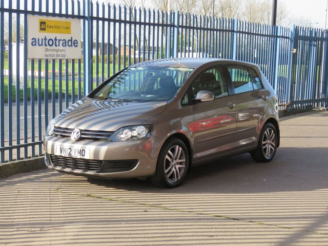 USED 2012 12 VOLKSWAGEN GOLF PLUS 1.6 SE TDI 5d 103 BHP Parking Sensors,Alloy Wheels,Air Conditioning,Cruise Control