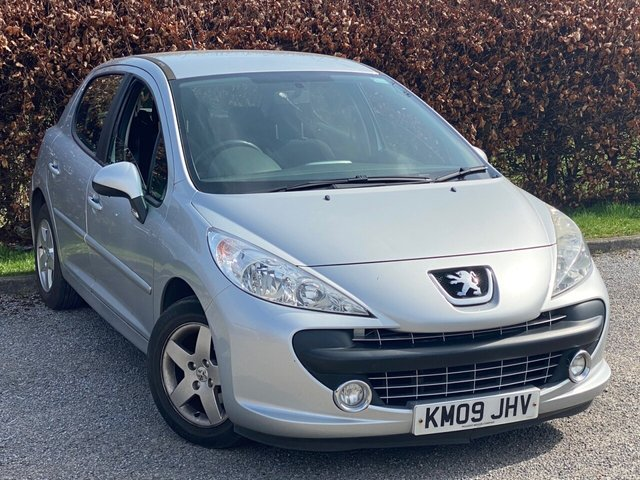 USED 2009 09 PEUGEOT 207 1.4 SPORT 5d SERVICE HISTORY, 12 MONTHS MOT, AIR CONDITIONING, ELECTRIC MIRRORS