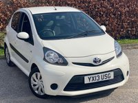 USED 2013 13 TOYOTA AYGO 1.0 VVT-I ICE 5d LOW MILEAGE, FULL SERVICE HISTORY, 12 MONTHS MOT, BLUETOOTH