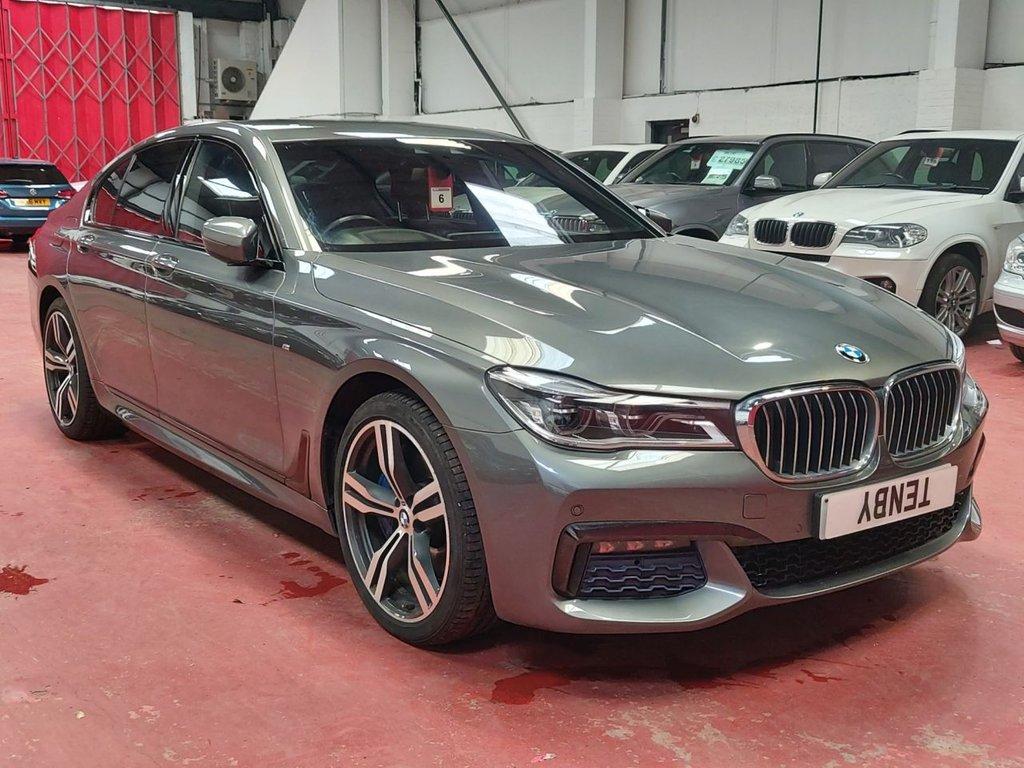 USED 2017 66 BMW 7 SERIES 3.0 730D XDRIVE M SPORT 4d AUTO 261 BHP