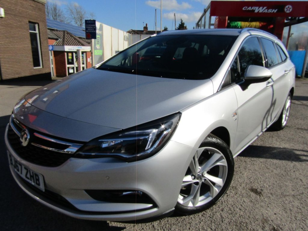 USED 2017 67 VAUXHALL ASTRA 1.4 SRI S/S 5d 148 BHP AUTOMATIC Ex motability car ** full service history ** Lowest miles locally ** Lovely car inside & out ** Low rate PCP £1500 deposit £169 per month ** please check our reviews **