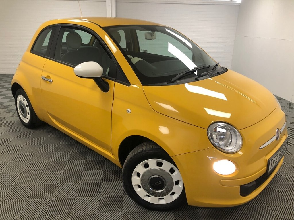 USED 2014 FIAT 500 1.2 COLOUR THERAPY 3d 69 BHP £121 a month, T&C's apply.