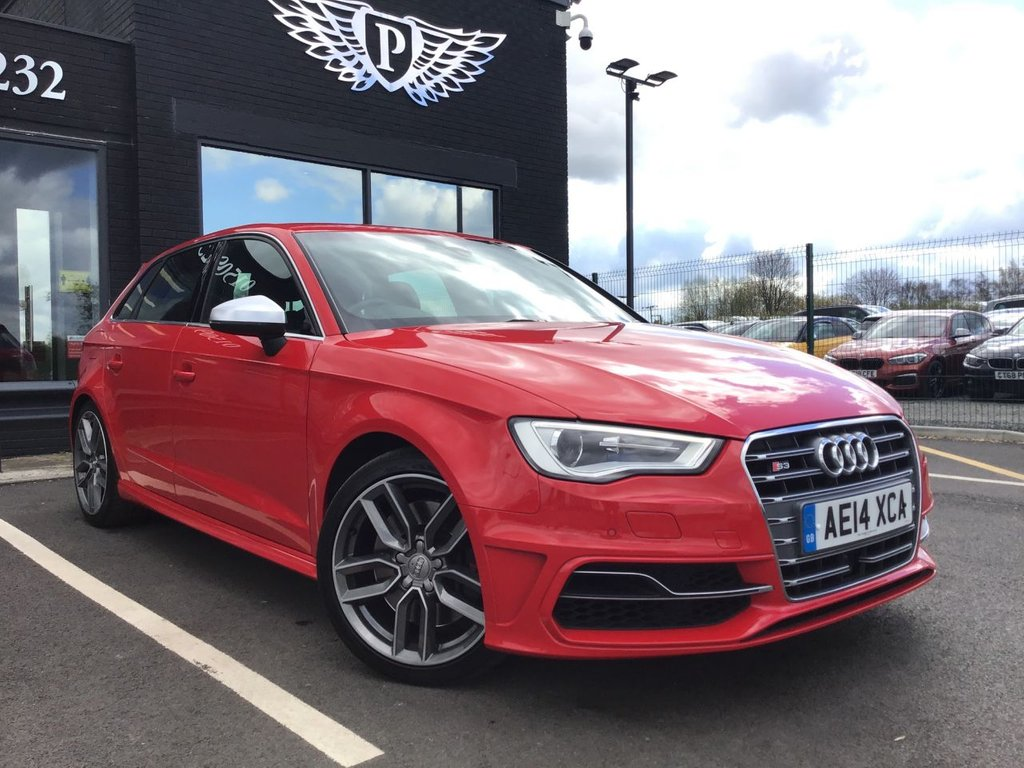 USED 2014 14 AUDI A3 2.0 S3 SPORTBACK QUATTRO 5d 296 BHP FINANCE RATES FROM 5.9% APR