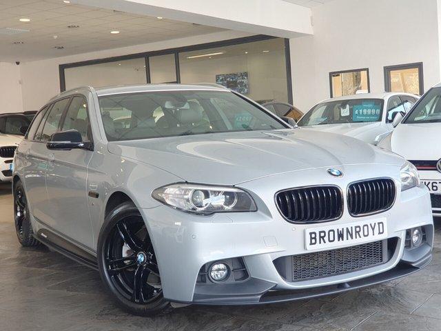 USED 2014 64 BMW 5 SERIES 2.0 520D M SPORT TOURING 5d 188 BHP BM PERFORMANCE STYLING+6.9%APR