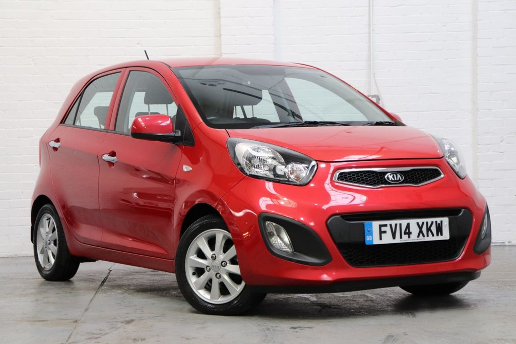 USED 2014 14 KIA PICANTO 1.0 VR7 5d 68 BHP Recently Serviced + Long Mot