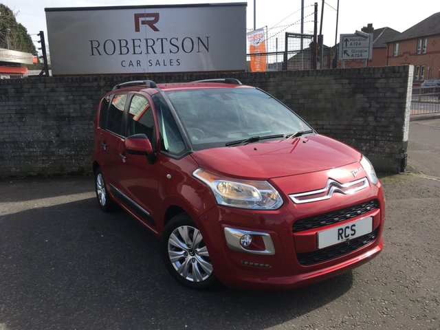 USED 2015 15 CITROEN C3 PICASSO 1.6 EXCLUSIVE EGS 5dr AUTOMATIC LOW MILEAGE AUTOMATIC - MOT FEB 2022