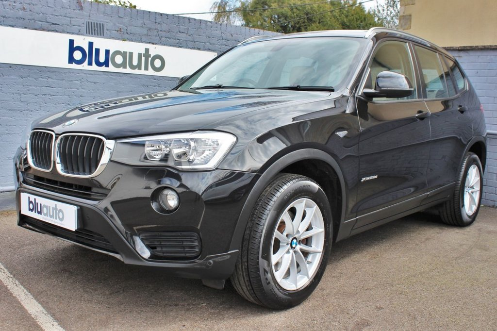 USED 2016 16 BMW X3 2.0 XDRIVE20D SE 5d 188 BHP 1 Private Owner (Plus BMW), BMW Service History, Cream Leather Heated Seats, Parking Sensors, Satellite Navigation, Cruise Control