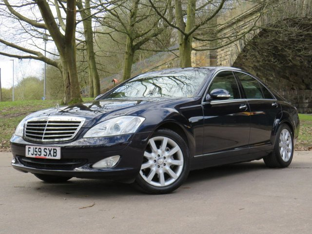 USED 2009 59 MERCEDES-BENZ S-CLASS 3.5 S350 4d 272 BHP