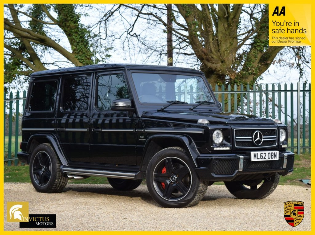 USED 2012 62 MERCEDES-BENZ G-CLASS 5.5 G63 AMG 5d 544 BHP