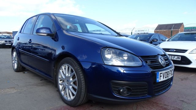 USED 2008 08 VOLKSWAGEN GOLF 2.0 GT TDI 5d 138 BHP DRIVES A1 - 1 OWNER