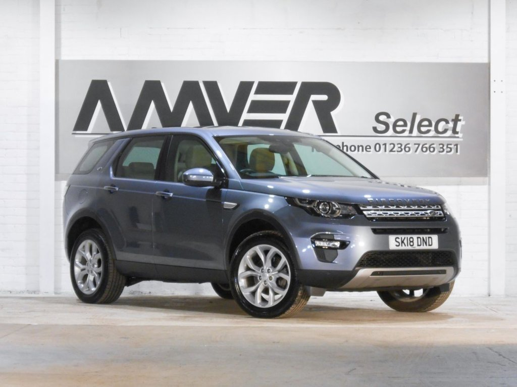 USED 2018 18 LAND ROVER DISCOVERY SPORT 2.0 TD4 HSE 5d 180 BHP