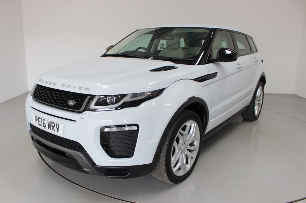 USED 2016 16 LAND ROVER RANGE ROVER EVOQUE 2.0 TD4 HSE DYNAMIC 5d AUTO-2 OWNER CAR-PANORAMIC ROOF-MERIDIAN SOUND-ELECTRIC MEMORY SEAT-ELECTRIC FOLDING MIRRORS-BLUETOOTH-CRUISE CONTROL-SATNAV-PARKING SENSORS-REVERSE CAMERA-DAB RADIO-CLIMATE CONTROL