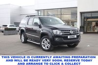 USED 2016 66 VOLKSWAGEN AMAROK Highline 2.0 BiTDI 180 BMT 4MOTION 4dr 5 Seat Double Cab Pickup 4x4 AUTO with NO VAT TO PAY Rear Truckman Canopy Rear Load Liner Side Steps Towbat Heated Leather Seats Sat Nav and much more