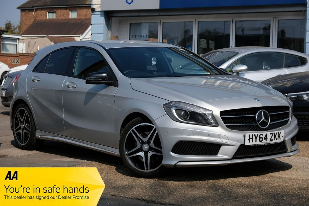 USED 2014 64 MERCEDES-BENZ A-CLASS 2.1 A220 CDI BLUEEFFICIENCY AMG SPORT 5d 170 BHP AUTOMATIC  AVAILABLE FOR £229 PER MONTH £0 DEPOSIT