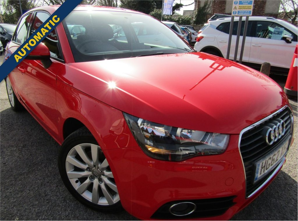 USED 2013 62 AUDI A1 1.4 SPORTBACK TFSI SPORT 5d 122 BHP ** Sporty styling ** economical automatic ** Well maintained documented service history ** drives great fun & agile ** Excellent condition inside & out ** 12 Mths AA breakdown **