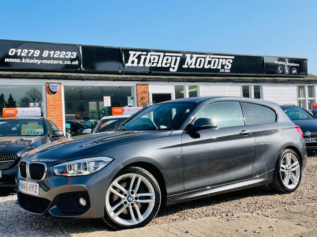 USED 2016 16 BMW 1 SERIES 2.0 120D M SPORT 3d 188 BHP