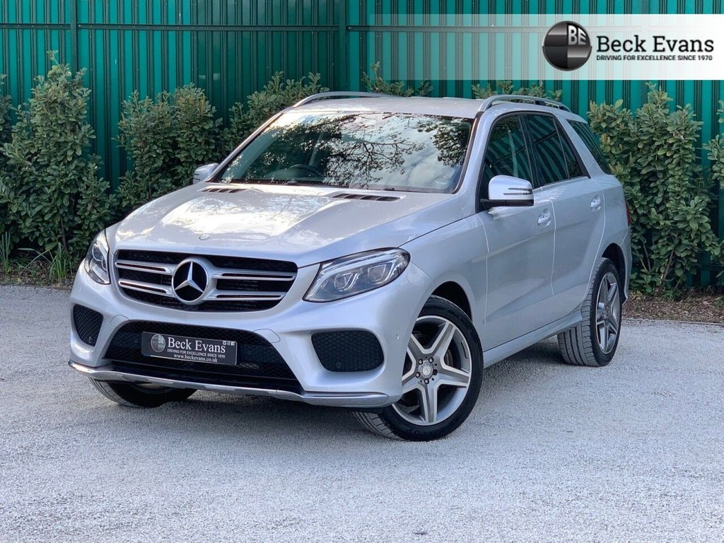 USED 2016 16 MERCEDES-BENZ GLE-CLASS 2.1 GLE 250 D 4MATIC AMG LINE 5d 201 BHP
